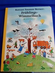Kinderbuch Frühlings Wimmelbuch
