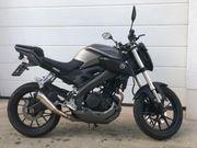 Yamaha MT 125 mit Sportauspuff