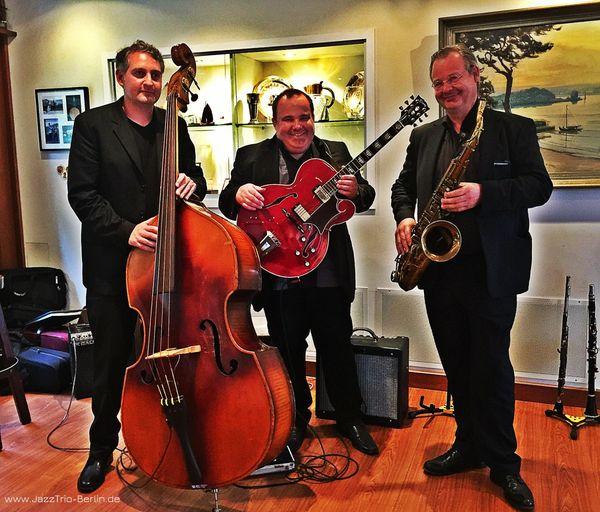 Jazztrio Saxophon Swing Jazz Bossa