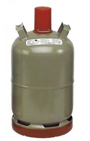 Propangasflasche 11 kg mit Abdeckkappe