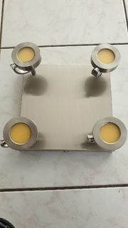 LED Deckenleuchte mit 4 verstellbaren