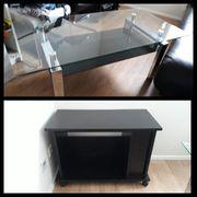 Wohnungsauflösung Wohnzimmermöbel Möbel Couchtisch Fernsehtisch