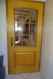 Zimmertüre Türe mit Glaseinsatz aus