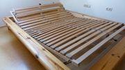 Futon-Bett 1 40m Massivholz mit