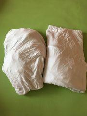 2 Spannleintücher für Babybett Fa
