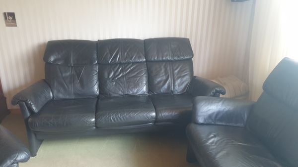 Leder Sofa von Musterring nur