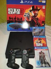 Playstation 4 1TB 3 Spiele