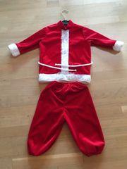 Weihnachtsmann Kostüm für Kinder Größe