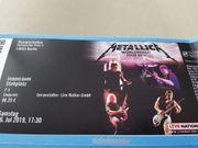 Metallica Ticket Berlin 6 7