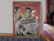 Elvis Presley Plakatwerbung für Film