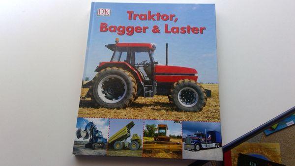 Buch Kinderbuch Traktor Bagger Laster