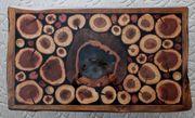 Wildholz Couchtisch Massivholz-Epoxidharz