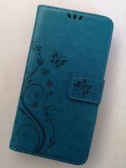 Handyhülle - Sony XP - Schmetterlinge blau
