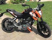 KTM 125 Duke ABS unfallfrei