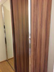 Schiebetüren-Kleiderschrank mit Spiegel Breite 150cm