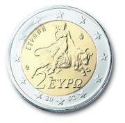 griechisches munzen 2 euro