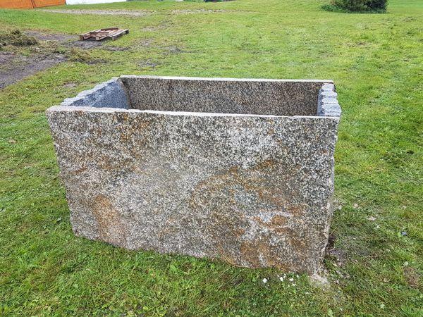 Hochbeet aus Granit