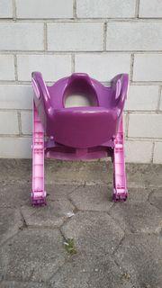 Kinder Toilettensitz mit Treppe in