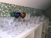 Kristallglas Set Kristall Karaffen Schalen