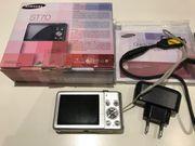 Samsung ST70 Digitalcamera Silber 14
