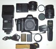 Canon 5D Vollformater mit reichlich
