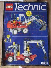 8837 Lego Technic Technik Bagger