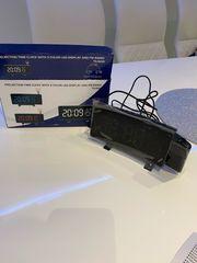 Radiowecker LED mit Projektion NEU