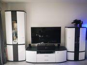Moderne neuwertige Wohnwand UVP 2