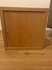 Beistelltisch Holzschrank mit Tür in