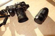 Set Nikon F 401 body