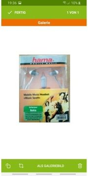 Hama Mobile Music Headset x7d