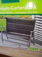 Aluminium Gartenbank NEU Klappbar BANK