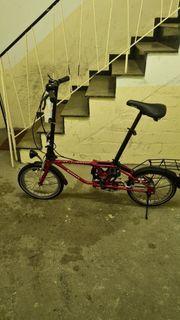 Damen Klappfahrrad Mini Fahrrad