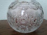Vase Kugelvase edles schweres Bleikristall