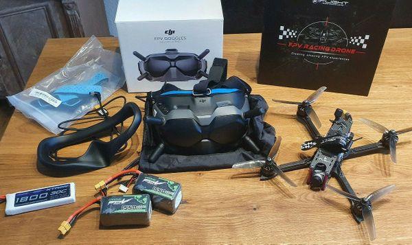 DJI FPV Brille und Air-Modul