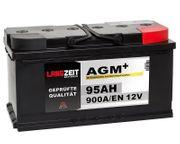 LANGZEIT AGM Batterie 95Ah 12V