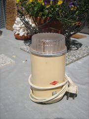 Krups elektrische Kaffeemühle Retro