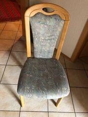 4 Stühle für Esstisch oder