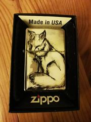 Zippo - White Fox