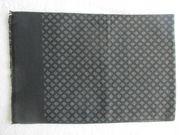 Herrenschal schwarz-hellgrau gemustert 180x30 cm