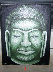 Buddah in Öl gemalt