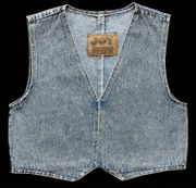 Jeans Weste blau XS S