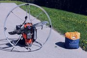Nirvana Rodeo 125 Simonini Paramotor