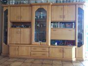 Wohnzimmerschrank Wohnwand Schrank mit Vitrinen