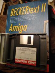 Beckertext II - AMIGA- Disketten Diskettenbox