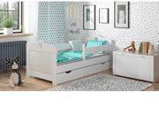 Traumhaftes Kinderbett mit Stauraum und