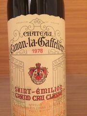 1 Flasche Canon-la-Gaffelière 1978 Saint-Emilion