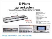 E-Piano mit 88 Tasten wie