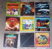 9 Stück alte Vinyl Schallplatten