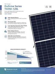 Trunsun Solar TSHM340-120L 340W Solarmodule